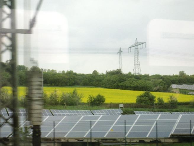 gelb wie Solar