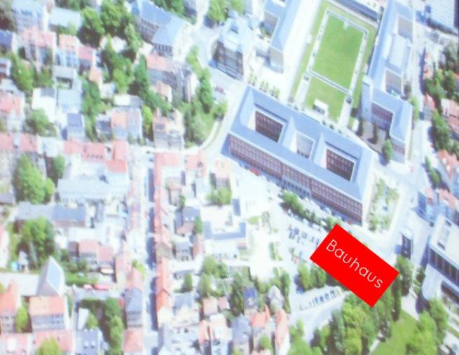 Neues Bauhaus-Museum Weimar - Plan